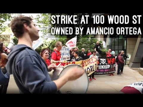 Day 27 of cleaners' all-out strike & solidarity demo