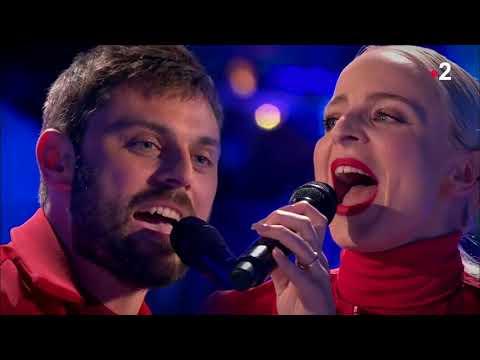 Le duo Madame Monsieur interprète en live