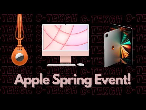 Apple Spring 2021 Event In 5 Minutes