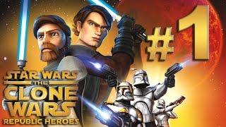 Star Wars The Clone Wars: Héroes de la República - En Dificil y español - Parte 1