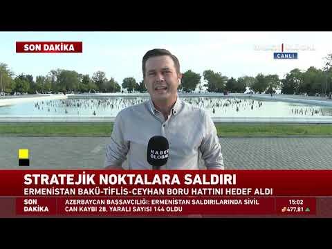 Haber Global Azerbaycan'da! Osman Girgin Bakü İzlenimlerini Aktardı