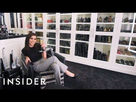 Champagne Doorbell Closet In LA | Bonkers Closets
