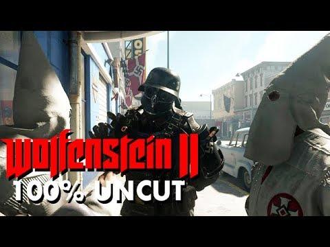 Wolfenstein 2 The New Colossus Gameplay German #05 - Ku-Klux-Klan