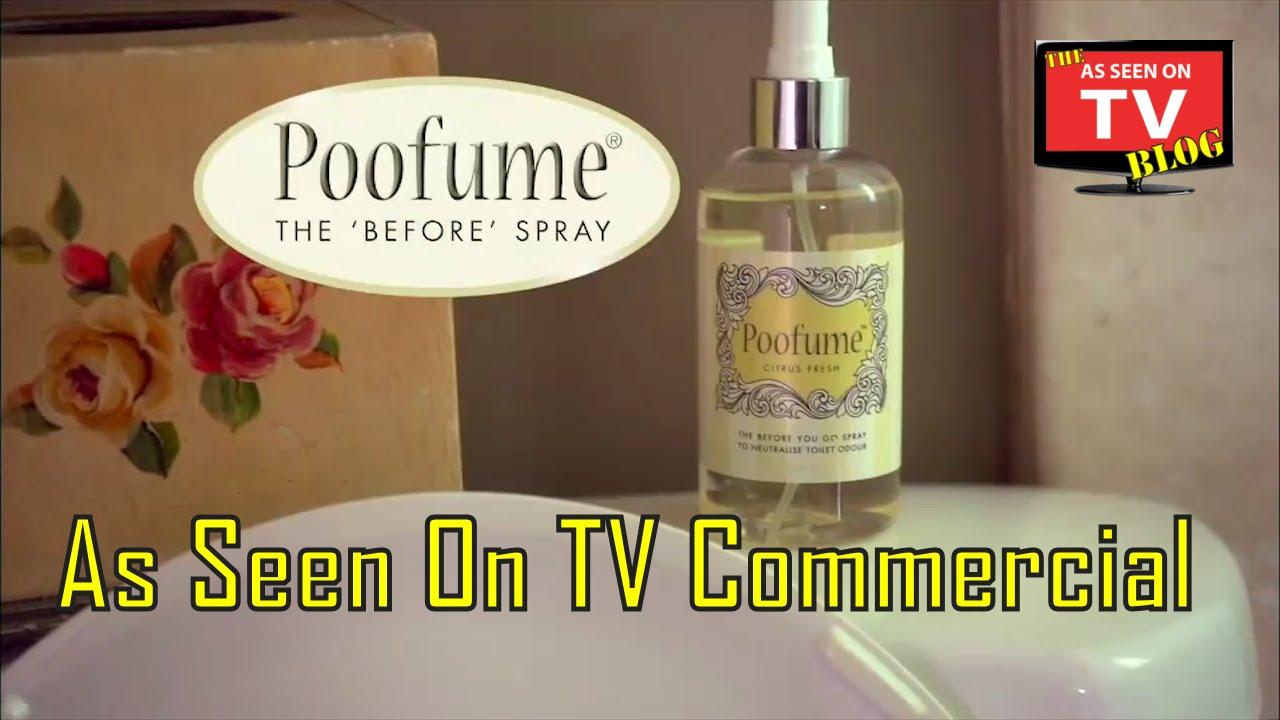 ... TV Commercial Buy Poofume As Seen On TV Before Toilet Spray - YouTube