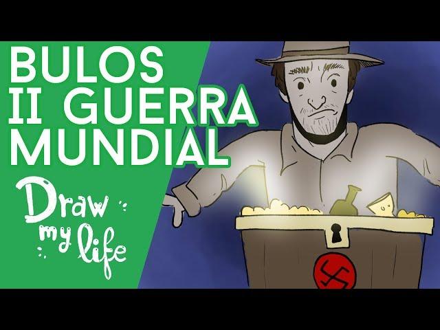 Las MENTIRAS de la SEGUNDA GUERRA MUNDIAL - Draw My Life en Español