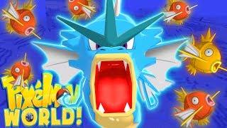 SCAREADOS IS HERE! - PIXELMON WORLD! #17 (Minecraft Pokemon Mod)