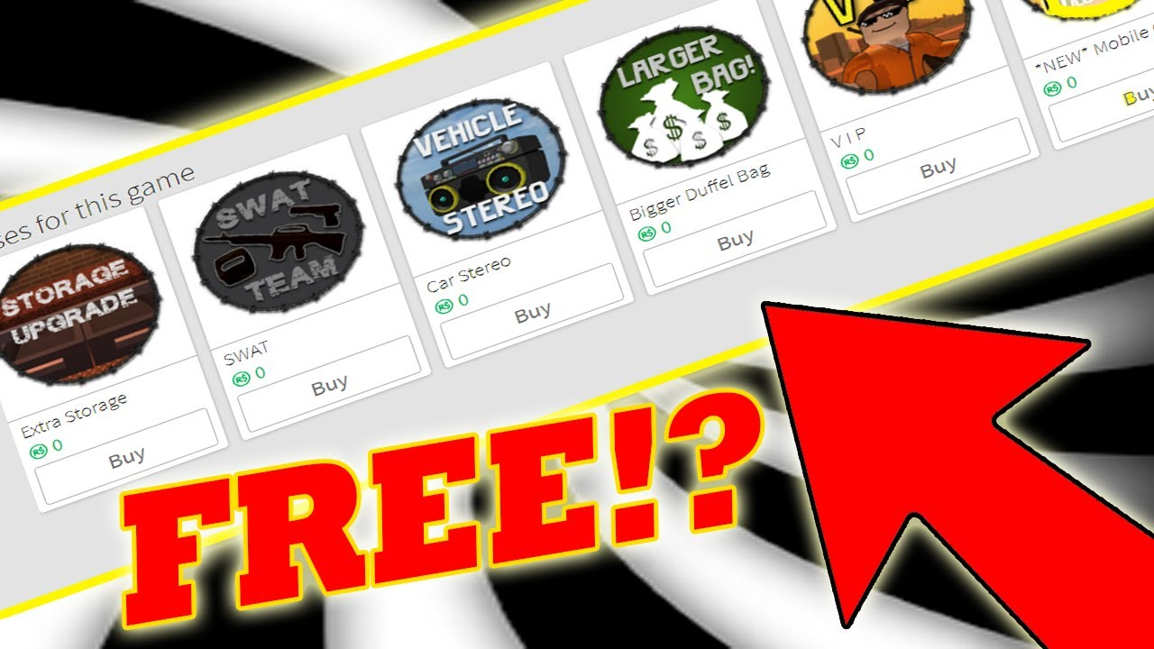 How To Get Free Game Passes On Roblox Works 100 1k Robux