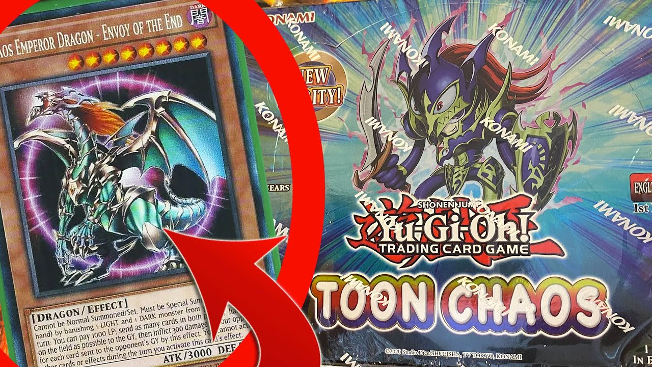 NEW RARITY!!! Collector Rare x Toon Chaos Yugioh Opening