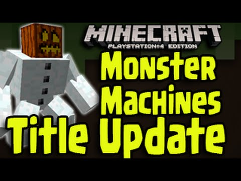 Minecraft PS3, Xbox, PS4 - New Title Update Features ...