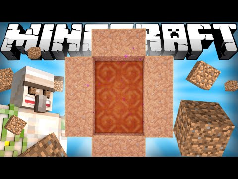 If a Dirt Dimension was Added - Minecraft