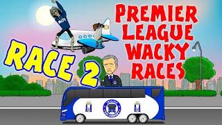 🚦RACE 2🚦Premier League Wacky Races (Man City 3-0 Chelsea, Norwich Sunderland and more!)