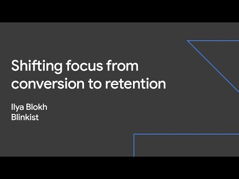Shifting Focus from Conversion to Retention (Sustainable Growth Day '19)