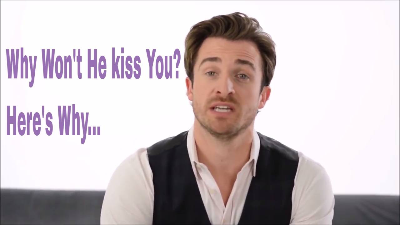 how to get a man to kiss you