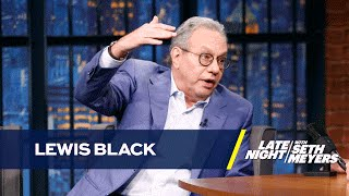 Lewis Black on Donald Trump and Election News Coverage