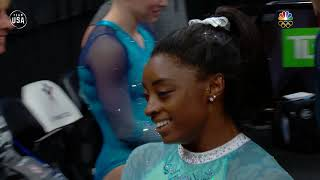Simone Biles Soars On The Uneven Bars | Summer Champions Series