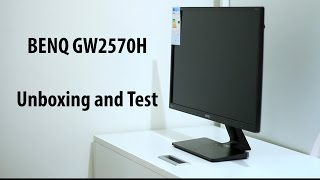 23 8 quot BENQ GW2470H Monitor Unboxing Test