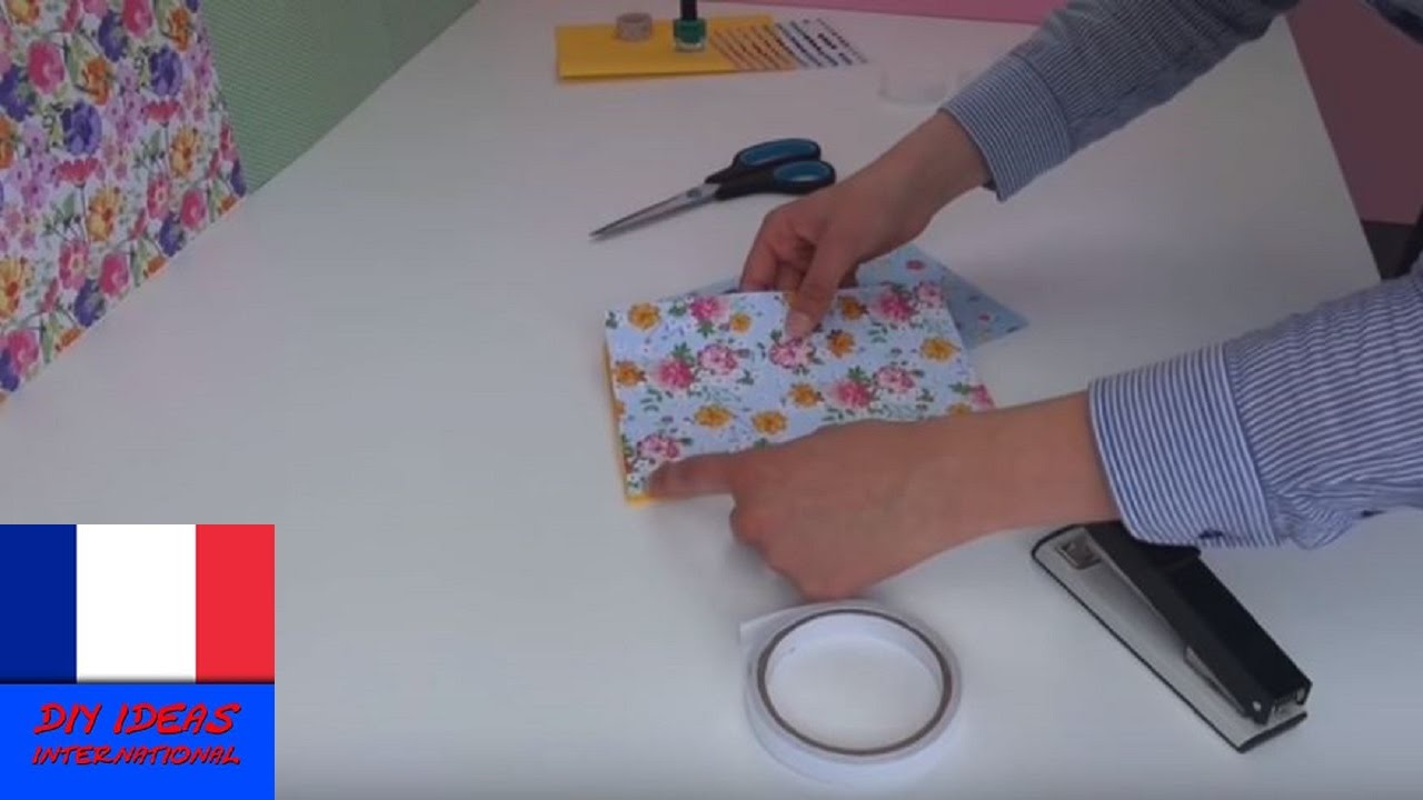 Turbo DIY Cahier/ Journal/ Agenda à faire soi-même - YouTube SS81