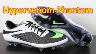 Nike Hypervenom Phantom Black/White/Neo Lime - Unboxing + On Feet