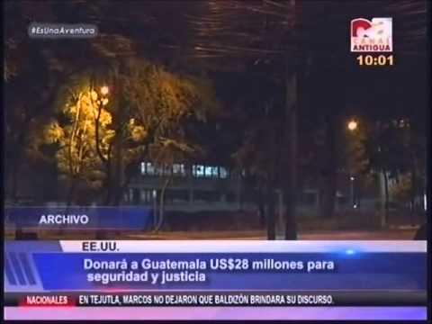EEUU donara a guatemala Us $28 millones para seguridad y justicia CA 1001 190815