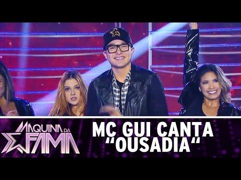 """Máquina da Fama (05/12/16) - MC Gui canta """"Ousadia"""""""