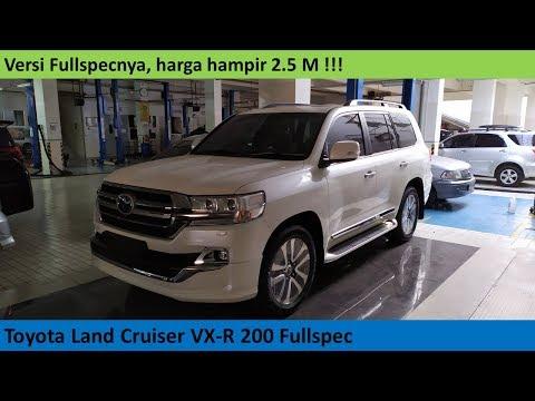 Toyota Land Cruiser VX-R 200 (Full Spec) Review - Indonesia