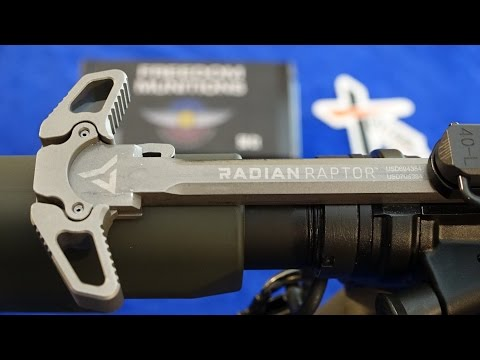 RADIAN WEAPONS RAPTOR™ AMBI Charging Handle Series