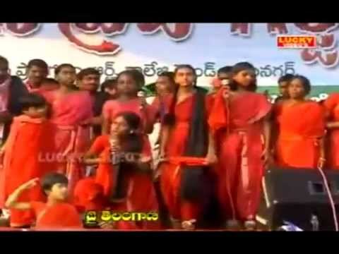 heart touching Telangana song by padmavathi