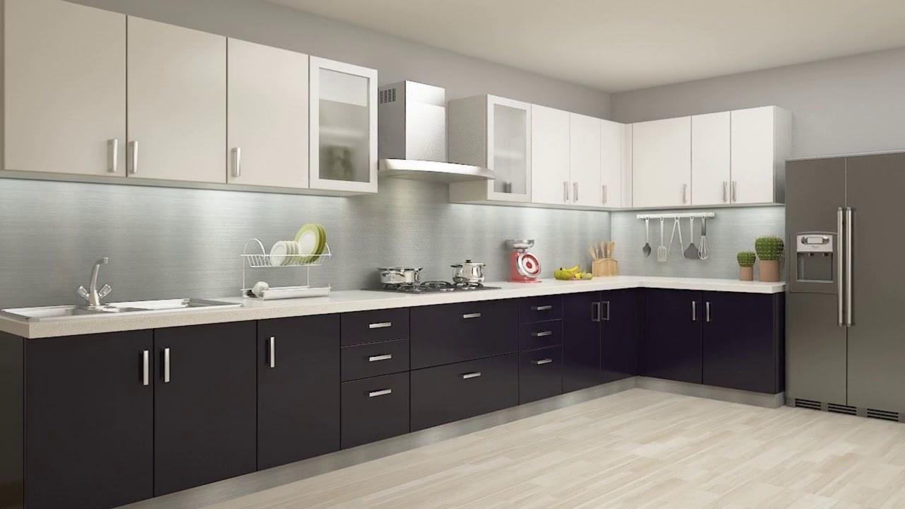 Modular kitchen design 50+ L Shaped Modular Kitchen ...
