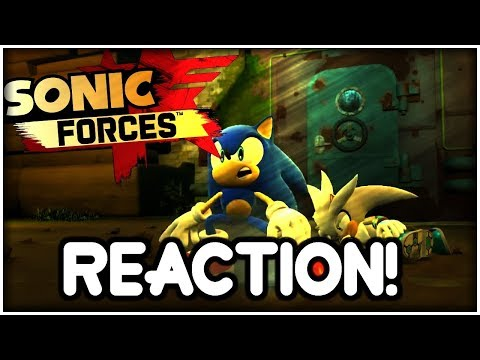 SONIC FORCES: Game introduction Trailer REACTION!