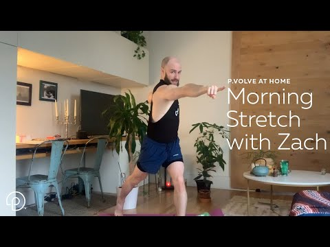 Morning Stretch with Zach | At Home with our Trainers | P.volve