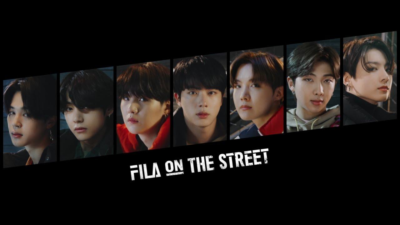 BTS(방탄소년단) 'FILA ON THE STREET' - Main