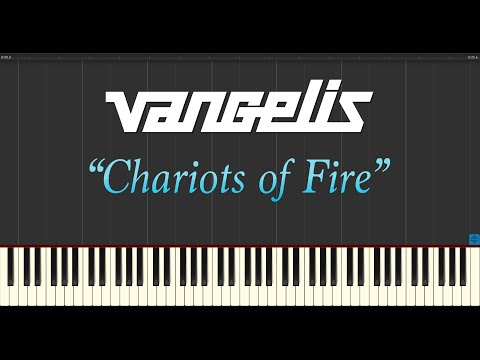 Vangelis - Chariots of Fire (Piano Tutorial Synthesia)