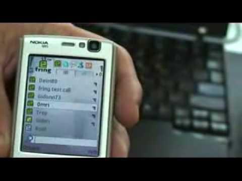 fring on Nokia N95