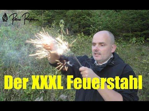 XXXL-Feuerstein: Der letzte Feuerstahl Deines Lebens