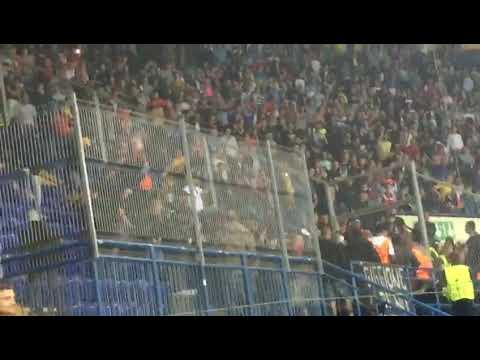 Napoli fans clash with Ukrainian police in kharkiv