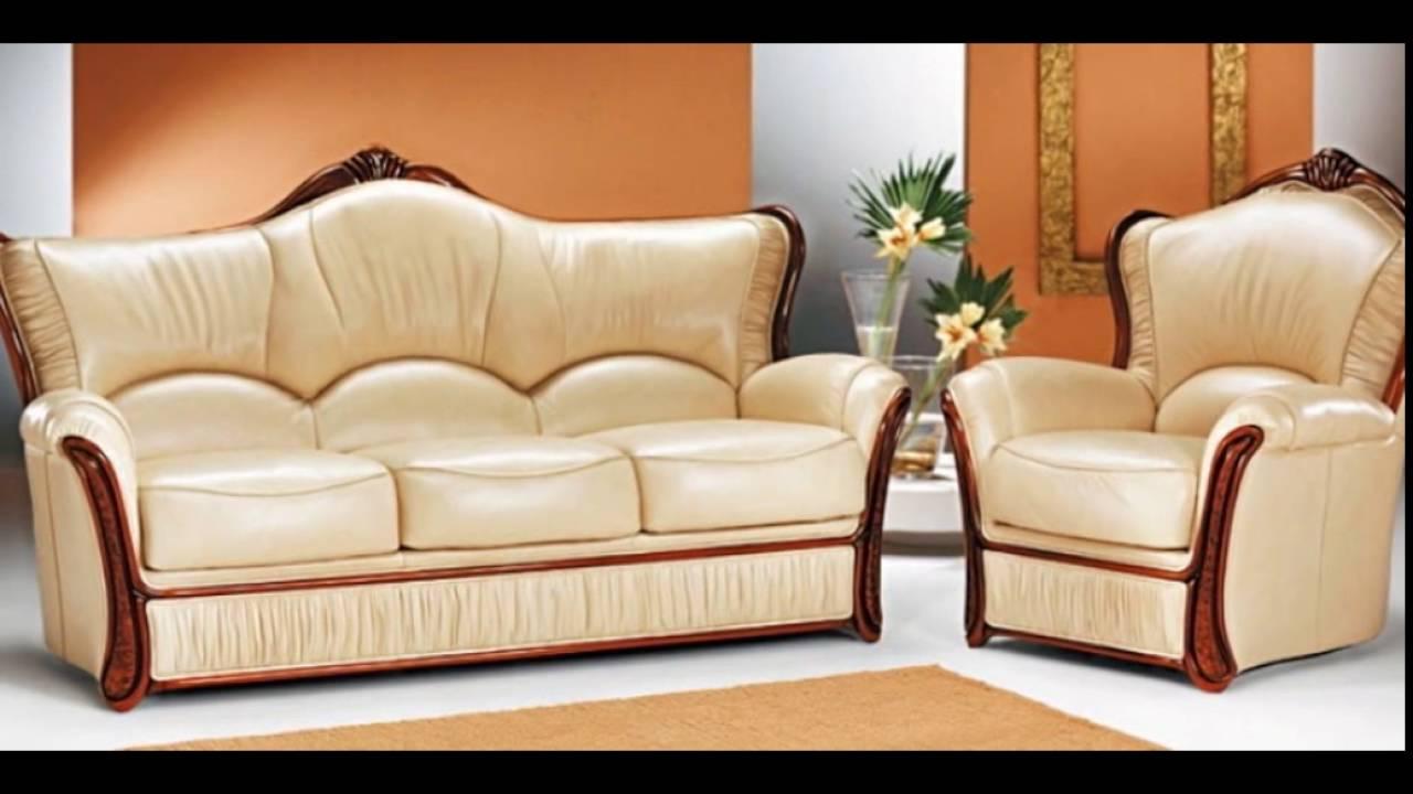 Кожаные диваны: фото