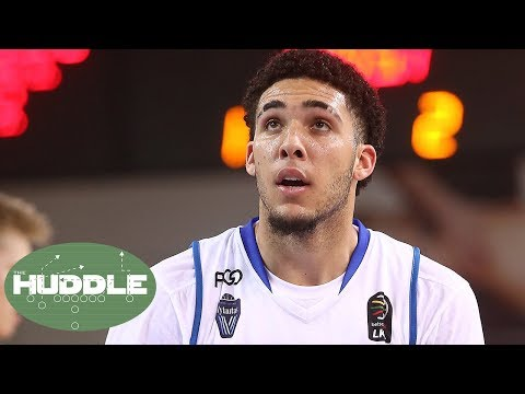 NBA Draft: Is Liangelo Getting Special Treatment By Lakers Because Of Brother Lonzo Ball? | Huddle