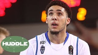 NBA Draft: Is Liangelo Getting Special Treatment By Lakers Because Of Brother Lonzo Ball?   Huddle