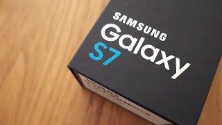 فتح صندوق السامسونج جالاكسي اس ٧ - Samsung Galaxy S7 Unboxing