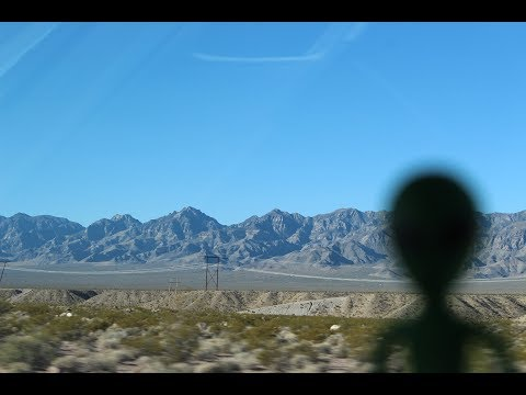 We're Being Followed! in the Nevada Desert!