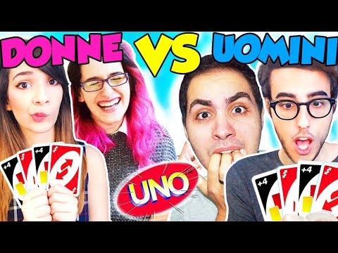 MASCHI CONTRO FEMMINE SU UNO! - Lyon & Stef VS Phere & Anna