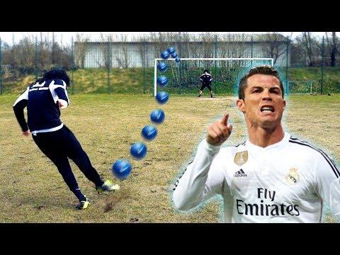 CRISTIANO RONALDO FUßBALL CHALLENGE !
