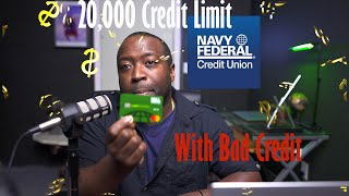 $20k Credit Card Limit With Navy Federal Credit Union With Bad Credit How I Did It