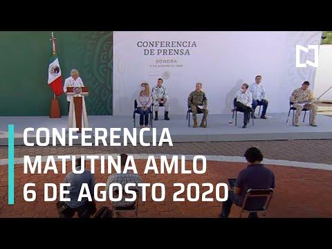 Conferencia matutina AMLO / 6 de agosto de 2020