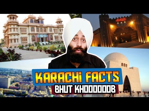 KARACHI ( کراچی ) - Surprising City !  Reaction #154 | by Indian | Sanmeet Singh