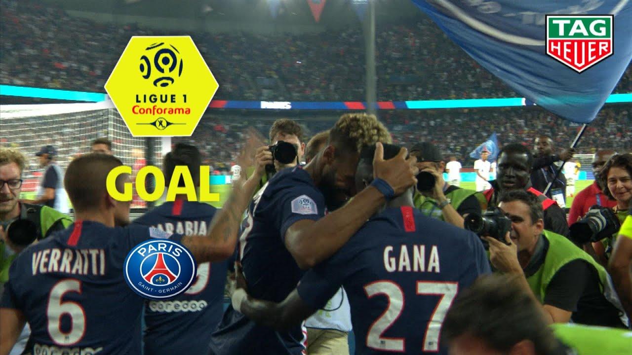 Goal Eric-Maxim CHOUPO-MOTING (50') / Paris Saint-Germain - Toulouse FC (4-0) (PARIS-TFC) / 2019-20