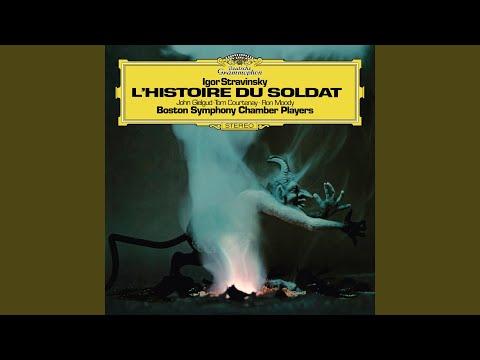Stravinsky: Histoire du soldat - English Version By Michael Flanders & Kitty Black - 3. Music...
