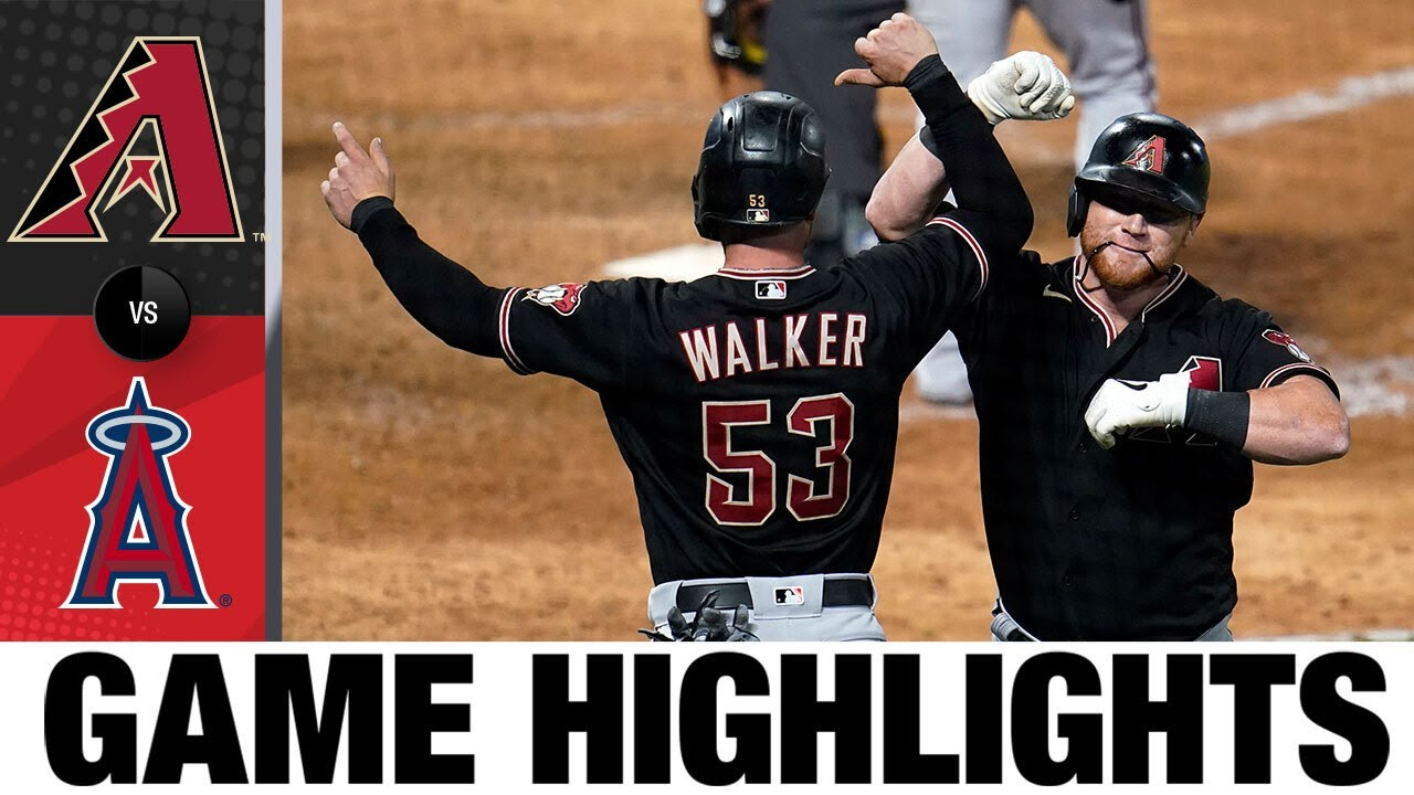 Calhoun and Peralta rake, lift D-backs to 9-6 win | D-backs-Angels Game Highlights 9/16/20