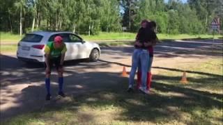 Пробег из Ярославля в Рыбинск 2017