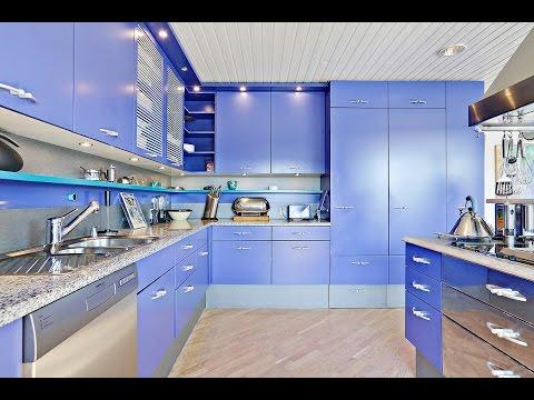 Top 30 Stylish, Modern Blue Theme Kitchen Collection- Plan
